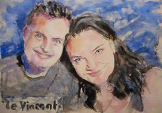 Acoustic Drawings The Shinji Ogata Gallery: Nice Couple 54 ナイス・カップル 54