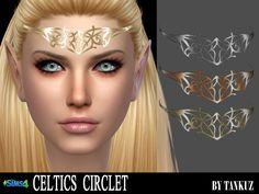 Sims 4 CC's - The Best: Celtics Circlet by Tankuz