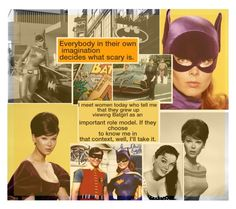 """""""In Loving Memory Of Yvonne Craig / Batgirl"""" by kjvdolly ❤ liked on Polyvore featuring art"""
