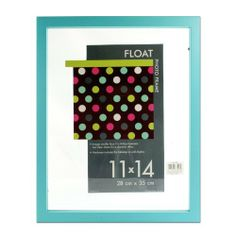 "Burnes Float Tabletop / Wall Hanging Photo Frame 11"" x 14"" - A Floating Effect Picture Frame: Turquoise, http://www.amazon.com/dp/B00C9G7HJ0/ref=cm_sw_r_pi_awdm_l2oLtb0B3YPGF"
