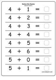 Image Result For Addition Worksheets For Vpk Kindergarten Math