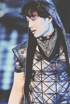 Goth Ninja, Kim Jong In, Exo Kai, Exo Members, Chinese Boy, Jawline, My Prince, Super Junior, I Fall In Love