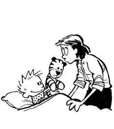 1st time mother and judging your own parenting Animal Pictures, Cute Pictures, Calvin And Hobbes Comics, Inappropriate Jokes, Fun Comics, Hobbs, Comic Strips, Painted Rocks, Picture Video