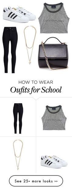 """""""School Outfit"""" by aswdrtf on Polyvore"""