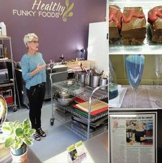 Healthy Funky Foods' potluck in Canmore. Lots of fun, great sharing and yummy foods!