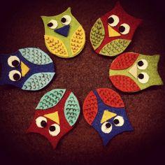 Handmade funny owls :)
