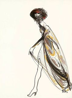 The Pucci cape by Kenneth Paul Block , 1967