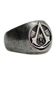 UbiWorkshop Store - Assassin's Creed - Master Assassin Ring, US$29.99 (http://store.ubiworkshop.com/assassins-creed/accessories/jewelry/master-assassin-ring/)