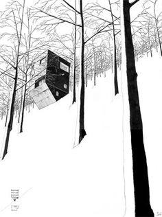 Denis Andernach houses for landscapes, landscapes of houses - www.denis-andernach.de