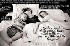 The joys of co-sleeping