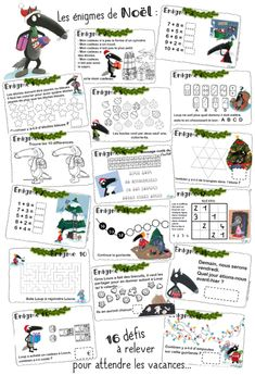 Christmas Writing, French Christmas, Kids Christmas, Christmas Activities, Activities For Kids, Christmas Treats For Gifts, School Organisation, Elf On The Self, Theme Noel