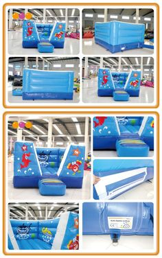 AQ125-5(4*3*2m/13.12'*9.84'*6.56') inflatable undersea bouncer.AOQI Inflatables Limited- We build all types of fun & safe inflatables for kids play and adults sport games, great for commercial business and amusement parks.