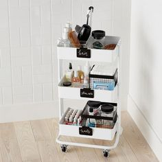 Bathroom storage is a location of the home we constantly require to work on. Then you'll need to see these 30 bathroom storage ideas. Bathroom Cart, Bathroom Ideas, Bathroom Makeovers, Makeup Storage Small Bathroom, Bathroom Mirrors, Simple Bathroom, Makeup Storage For Small Spaces, Organize Small Spaces, Small Room Storage Ideas