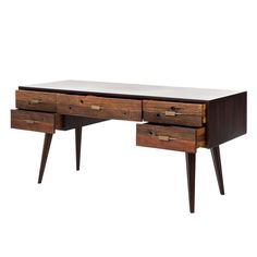 writing desk | mid century modern office | vintage tables |
