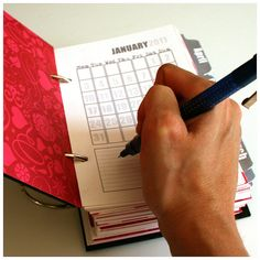 Make Your Own Planner