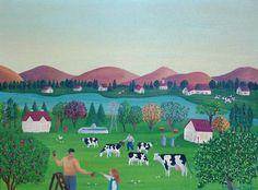 Un dia en la granja - Enriqueta Mölder