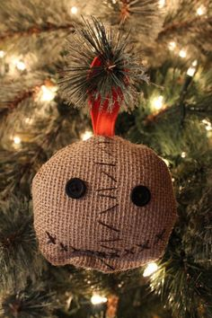 sam ornament halloween christmas - Halloween Christmas Decorations
