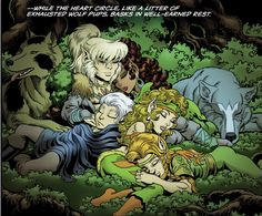 Listen to the latest episode of the #Elfquest Show podcast. In this episode we discuss issue #17 of the Final Quest by #DarkHorseComics.