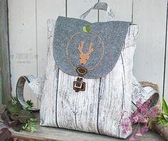 handmade backpack by www.FoxyCrafts.ru #handmade #crafts #bag #bags #textile #polkadot #backpack #backpacks #рюкзаки #рюкзак #рюкзачок #sew #handcrafted #handmadebag #hamdmadebag #шитье #рукоделие #ручнаяработа #сумка #сумки #сумкиручнойработы #awesome #besthandmade #beautiful #warm #scandinavian #deer #wood