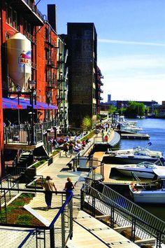 Milwaukee River Walk // Hometown Glory