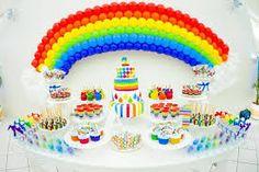 multicolor cake decoration - Buscar con Google