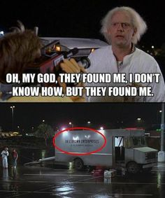 RUN FOR IT MARTY!! #BTTF