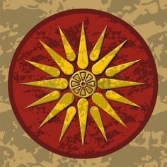 Buy Macedonia symbol by fractalgr on GraphicRiver. Vector symbol of king Philipos of ancient Macedonia. Fully editable, no gradients or transparencies. Zip file contain. Color Vector, Vector Art, Art Clipart, Alexander Of Macedon, Alexandre Le Grand, Alexander The Great, Ancient Greece, Drawing For Kids, Coat Of Arms