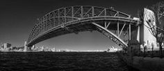 Sydney Harbour Bridge | Stitched panorama of infrared images… | Flickr