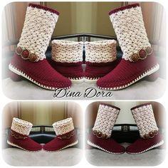 Crochet Sandals, Crochet Shoes, Bead Crochet, Crochet Bag Tutorials, Crochet Patterns, Espadrilles, Slippers, Chanel, Model