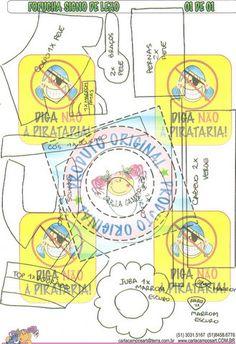 Fofucha 3D de goma eva del signo leo de Carla Campos. Molde fofucha signo de leao.