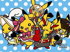 Pokemon Art Academy - Cosplay Pikachu by Rebeccachu-Chan.deviantart.com on @DeviantArt