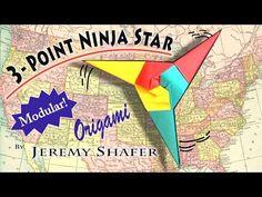 Three Point Ninja Star - YouTube