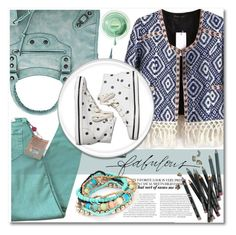 """""""Mint Mood"""" by stylemoi-offical ❤ liked on Polyvore featuring Bobbi Brown Cosmetics, True Religion, Little Nest, Keds and stylemoi"""