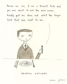 helpful cutlery