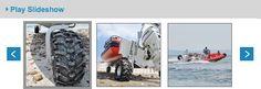 Sealegs Amphibious Vehicle Test Drive