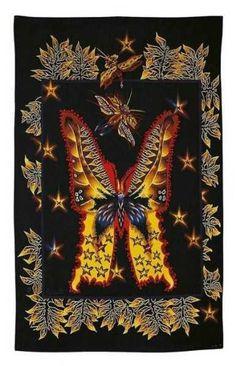 [Le Papillon?], tapisserie by Jean Lurçat