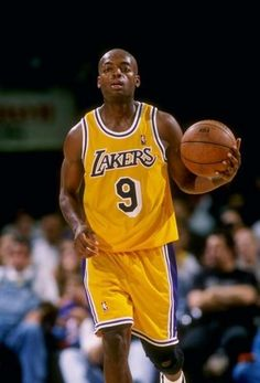 Lakers point guard Nick Van Exel- my main man back when I liked the lake show