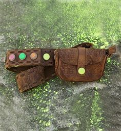 Noosa Amsterdam Pure Festival Belt / Nomad belt in Antique brown - Limited Edition! - NummerZestien.eu