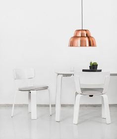 One Nordic Furniture Company extends flat-pack furniture range.   Love the light fixture.