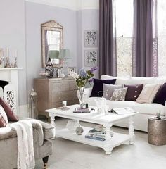 Lavender Living Room Decorating Ideas | ... Living Room In A Modern Style architecture Style Room Modern Living