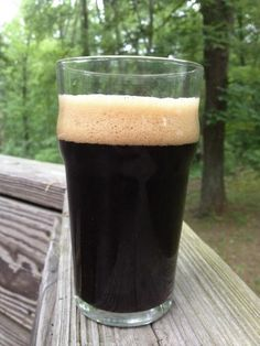 Nothing Fancy Chocolate Milk Stout; features a base of Maris Otter barley