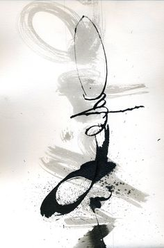 astonishing-moments: paroles - Pictify - your social art network Abstract Expressionism, Abstract Art, Typographie Inspiration, Creation Art, Mark Making, Calligraphy Art, Chinese Painting, Ink Painting, White Art