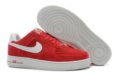 a3172cc55c9d77 nike air force homme nike air force 1 low rouge et blanche homme