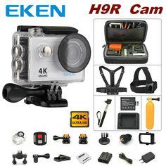 100% Original EKEN H9R remote control camera 4K wifi Ultra HD 1080p 60fps 170D waterproof camera sports mini cam #Affiliate