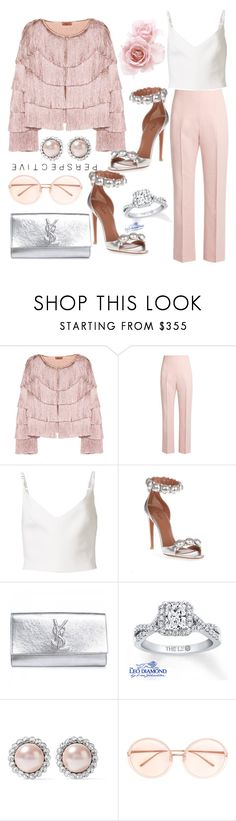 """Untitled #814"" by pesanjsp ❤ liked on Polyvore featuring Missoni, Altuzarra, Preen, Alaïa, Yves Saint Laurent, Miu Miu and Linda Farrow"