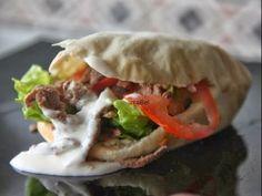 Pasteles de colores: Döner Kebab casero