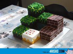 Tarta de Minecraft