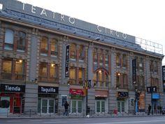 #Teatro #Circo #Price en Madrid