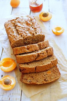 Banana Apricot Bread with Apricot-Pluot Jam / Patty's Food