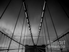Brooklyn Bridge - Spider's Web - photograph by James Aiken  #urbanmyopia #brooklynbridge #abstractphotography #buyfineart via @jamesaiken09